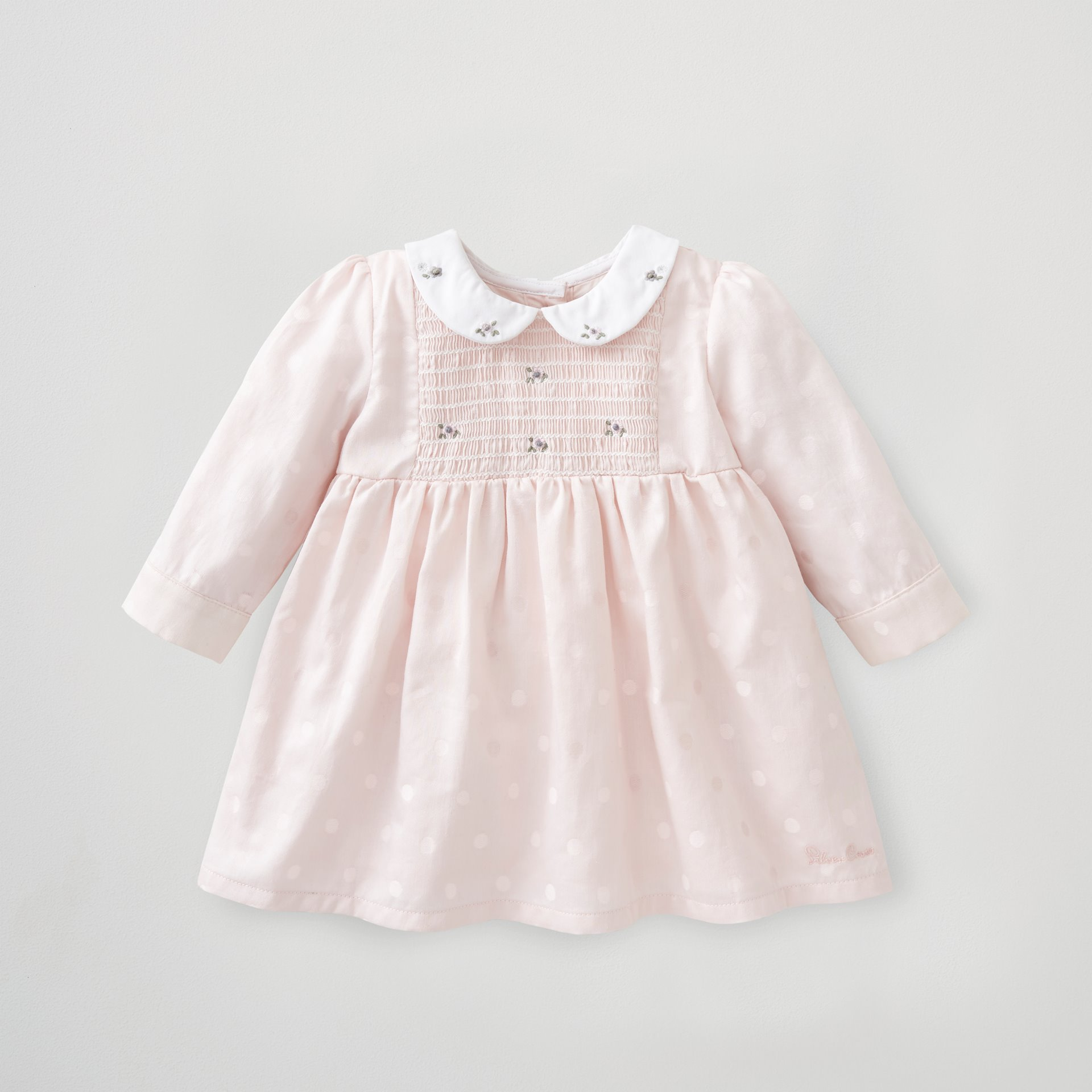 Embroidered Smock Dress 6-9 Months