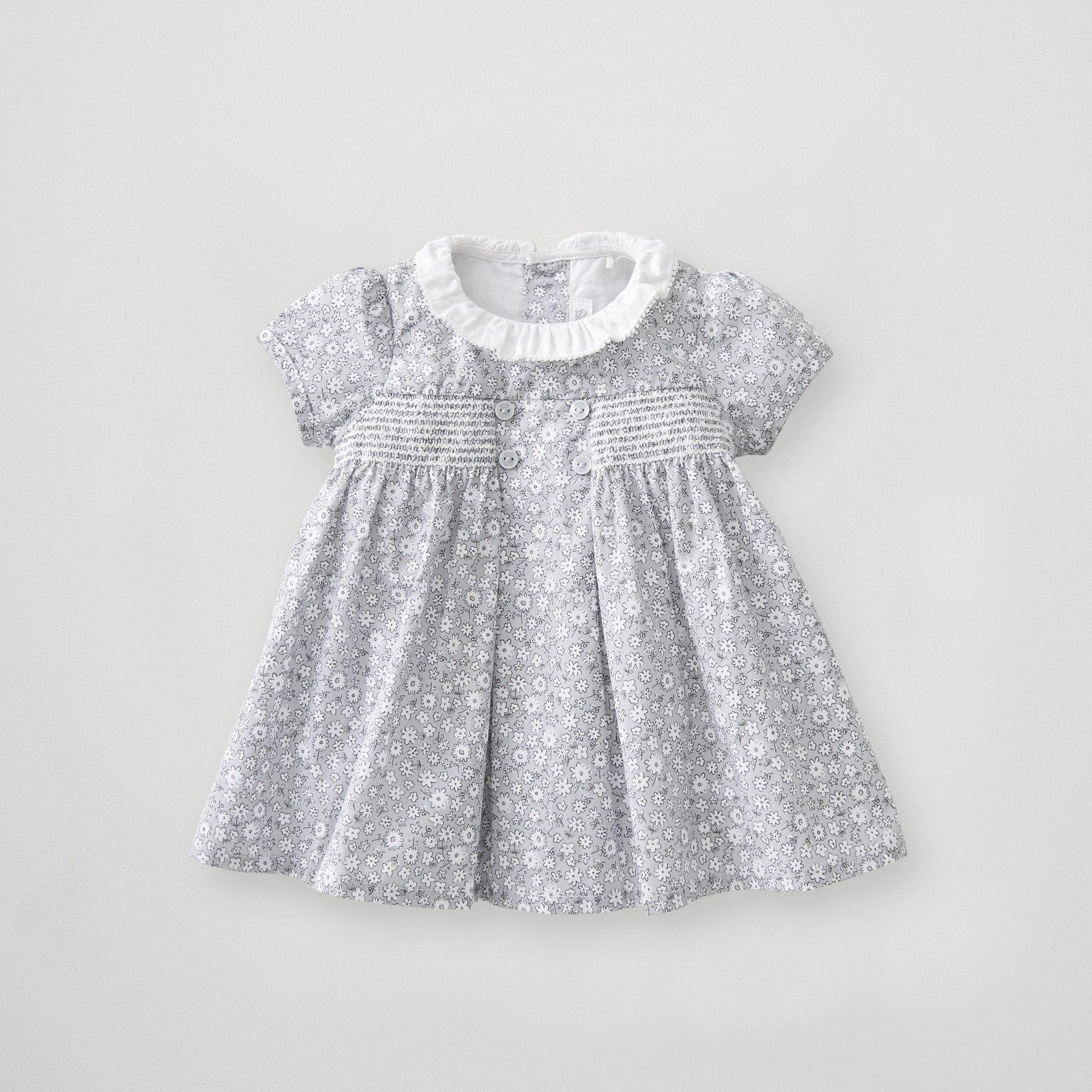 Floral Smock Dress 6-9 Months